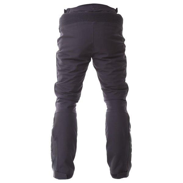 BKS Apache Laminate Black Textile Motorcycle Pants Rear