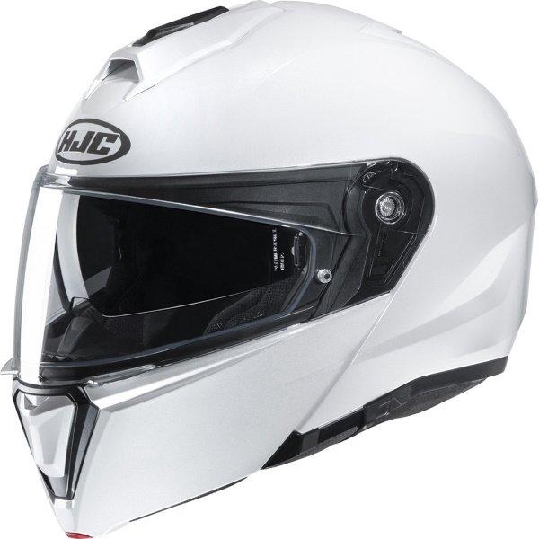 I90 Helmet Pearl White