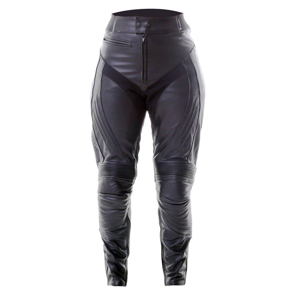 Venus II Pants Black Ladies Motorcycle Clothing, Boots And Gloves