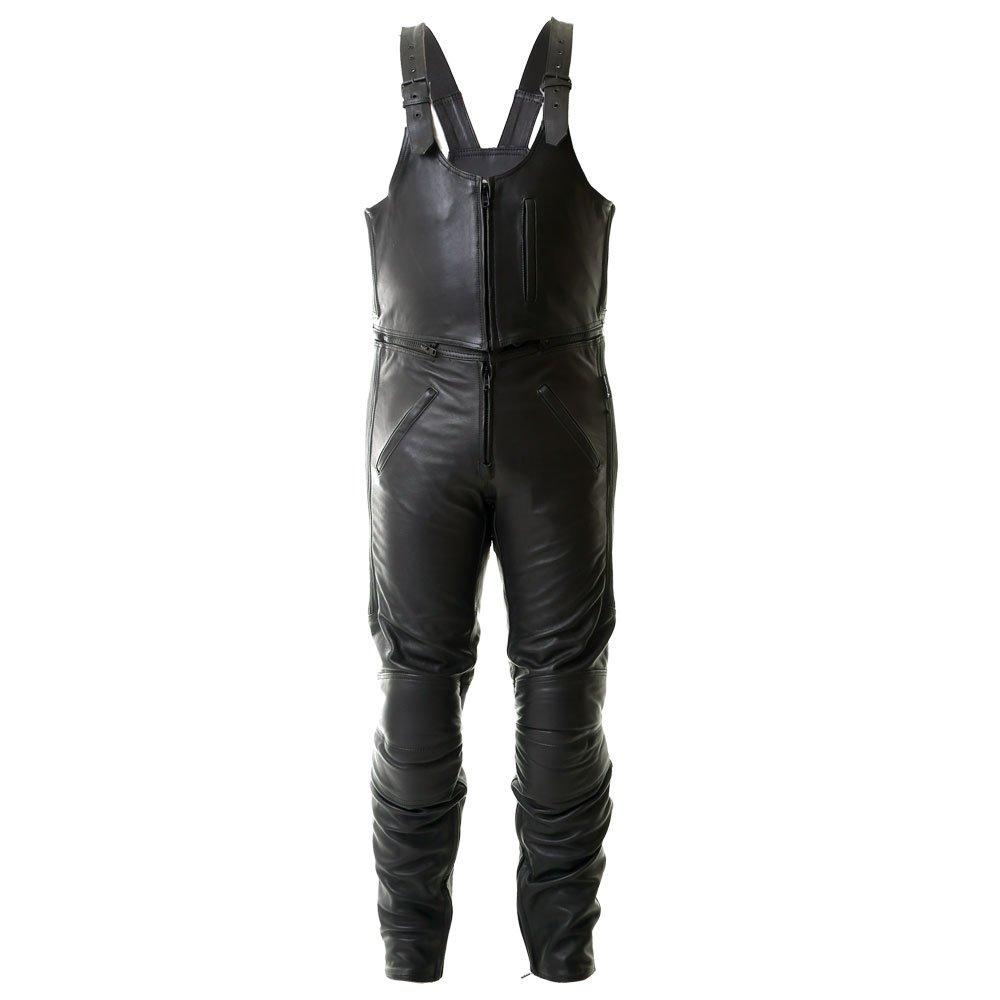 Frank Thomas Bib and Brace Jeans Black Size: Mens UK - 30