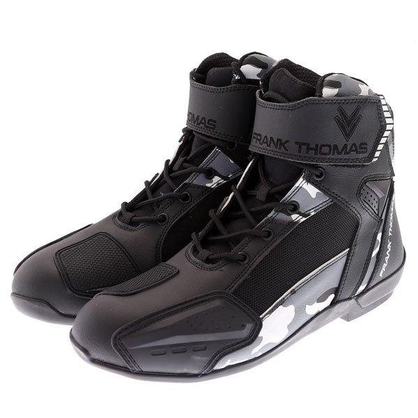Speed Short Boots Black White Grey Camo