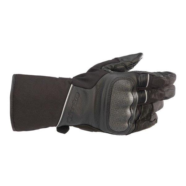 Alpinestars WR-2 V2 Goretex Black Waterproof Motorcycle Gloves Back