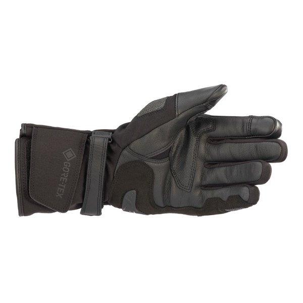Alpinestars WR-2 V2 Goretex Black Waterproof Motorcycle Gloves Palm