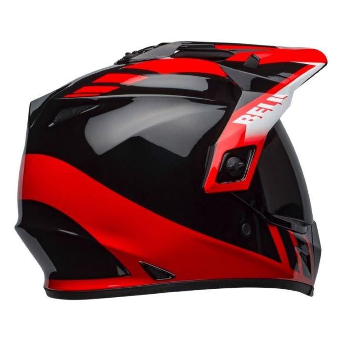 Bell MX-9 Adventure Mips Helmet Dash Black Red White Size: M