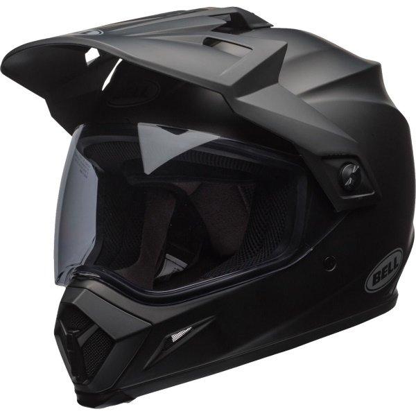 Bell MX-9 Adventure Mips Matt Black Motorcycle Helmet Front Left
