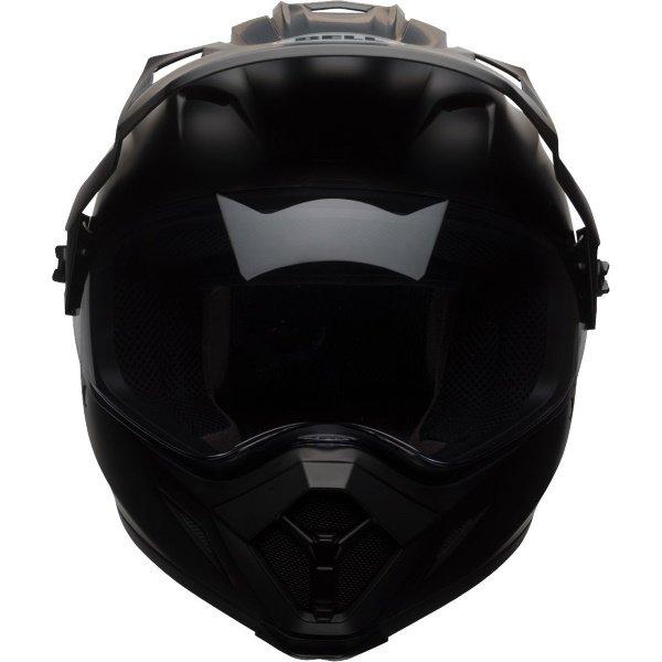 Bell MX-9 Adventure Mips Matt Black Motorcycle Helmet Front