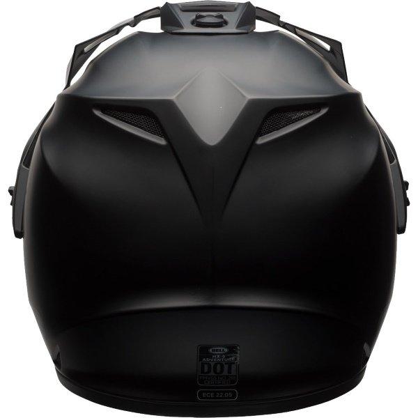 Bell MX-9 Adventure Mips Matt Black Motorcycle Helmet Back