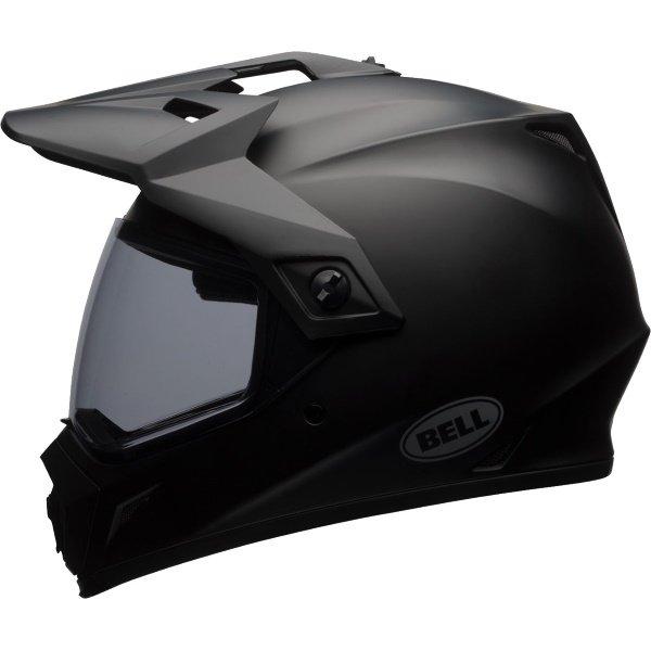 Bell MX-9 Adventure Mips Matt Black Motorcycle Helmet Left Side