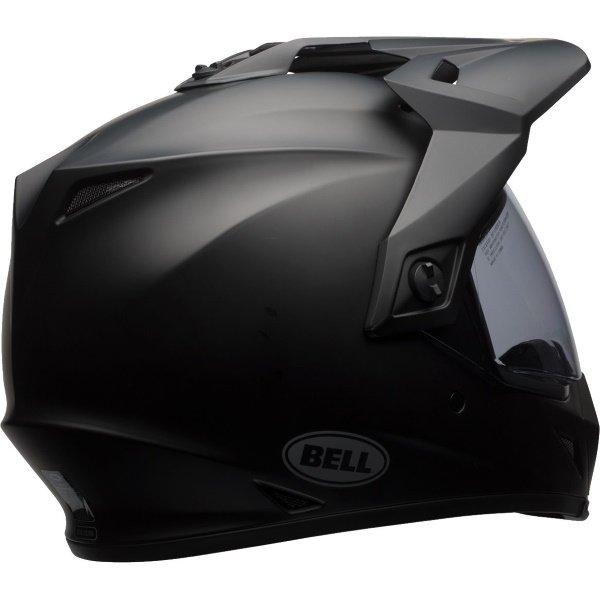 Bell MX-9 Adventure Mips Matt Black Motorcycle Helmet Back Right