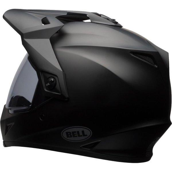 Bell MX-9 Adventure Mips Matt Black Motorcycle Helmet Back Left