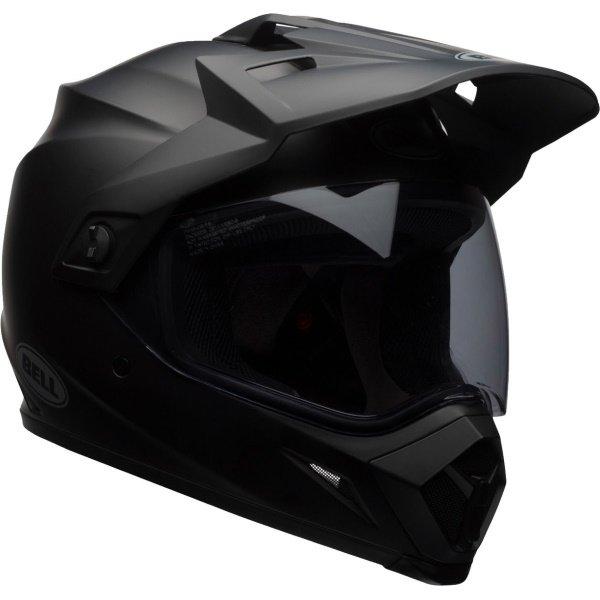 Bell MX-9 Adventure Mips Matt Black Motorcycle Helmet Front Right