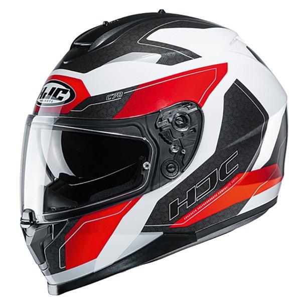 C70 Canex Helmet Red