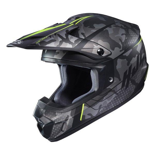 CS-MX II Sapir Helmet Yellow Motocross Helmets