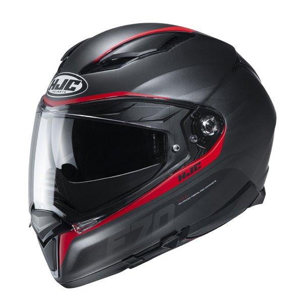 F70 Feron Helmet Red