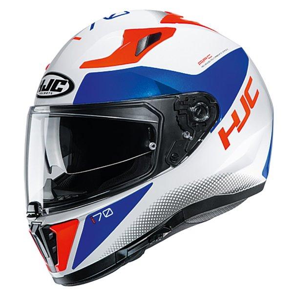 I70 Tas Helmet White Blue
