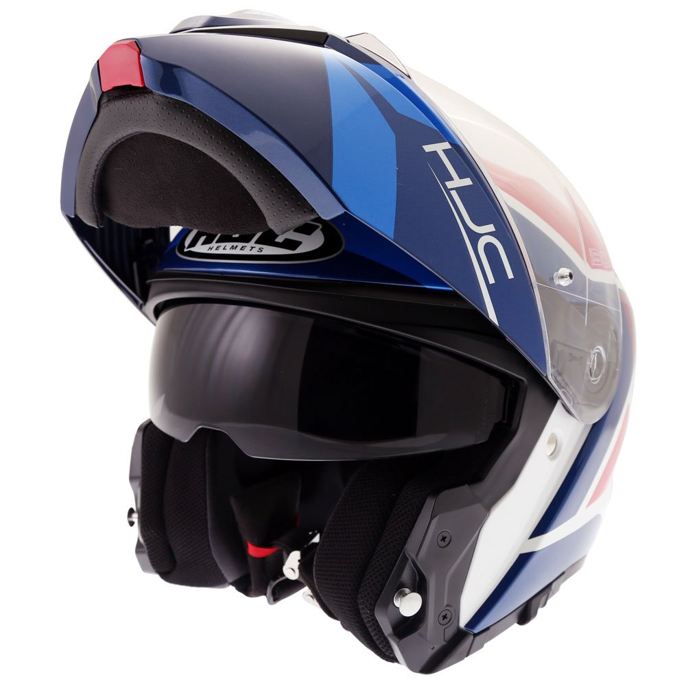 I90 Hollen Helmet Red White Blue