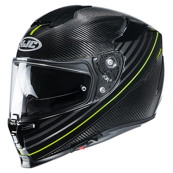 RPHA 70 Artan Carbon Helmet Fluo