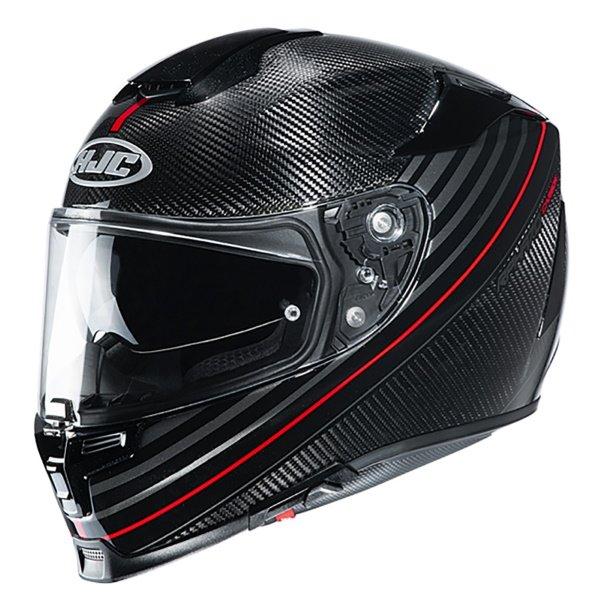 RPHA 70 Artan Carbon Helmet Red