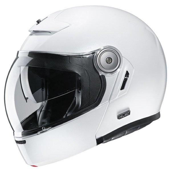 V90 Helmet Pearl White