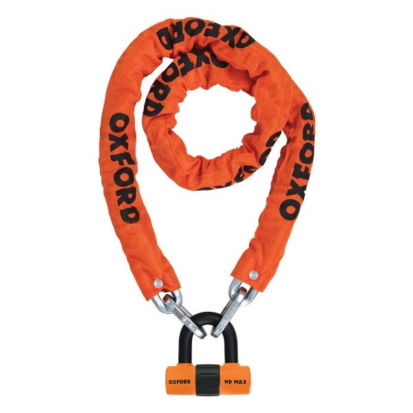 HD Chain Lock 1.5mtr Orange
