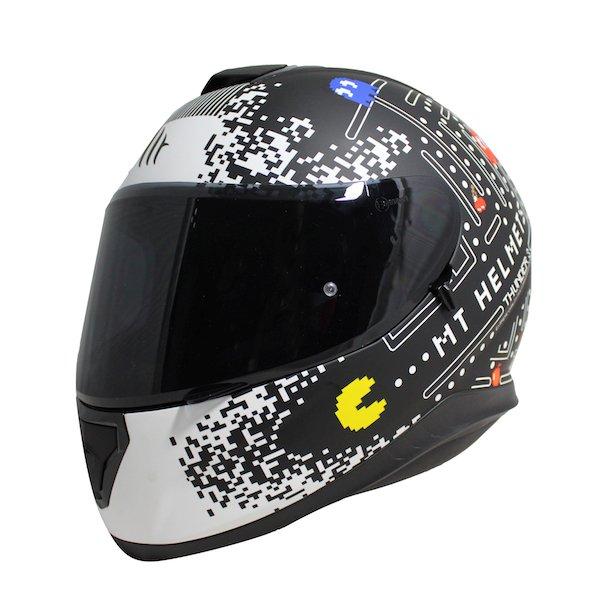 Thunder 3 SV One Helmet Matt Black White Motorcycle Helmets