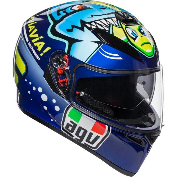 AGV K3 SV-S Helmet Rossi Misano 2015 Size: XS