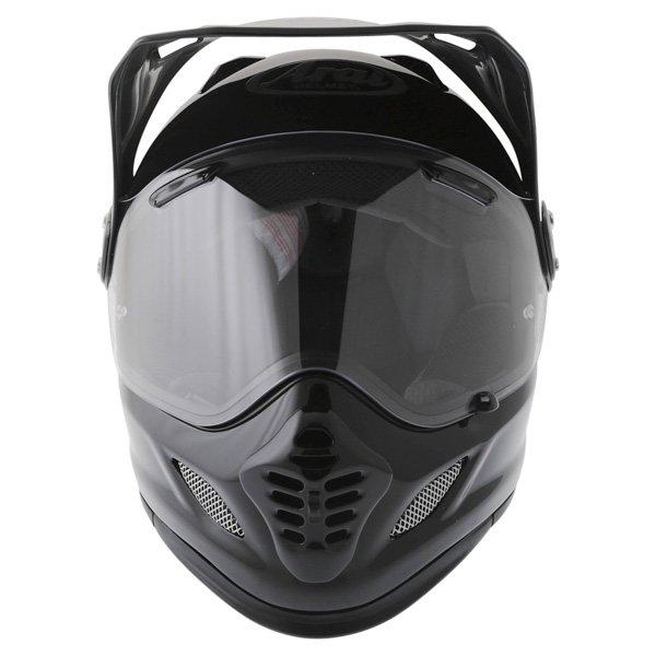 Arai Tour-X 4 Diamond Black Adventure Motorcycle Helmet Front