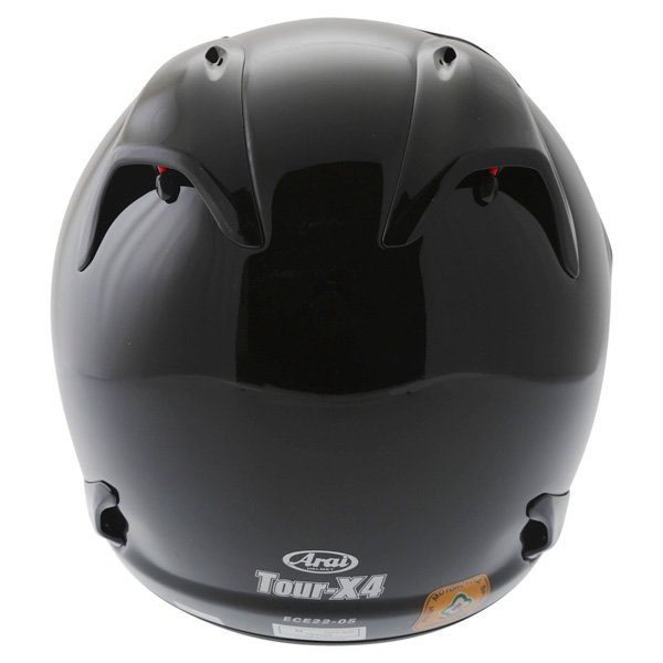 Arai Tour-X 4 Diamond Black Adventure Motorcycle Helmet Back