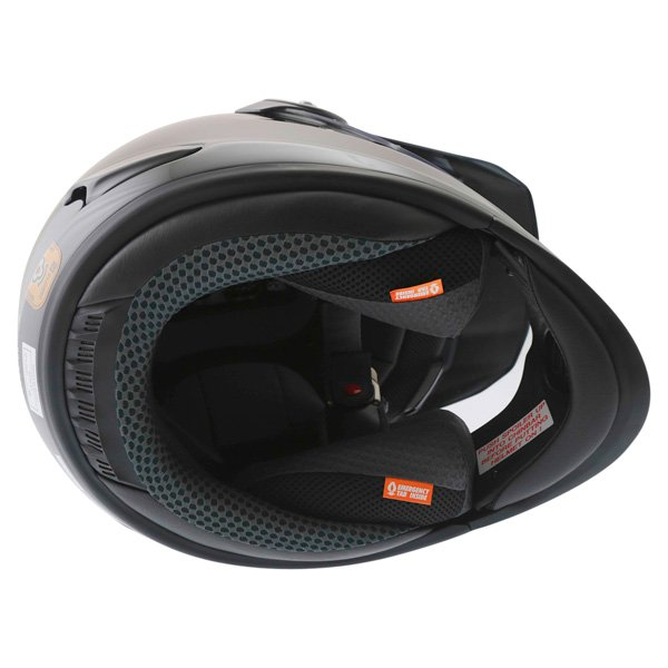 Arai Tour-X 4 Diamond Black Adventure Motorcycle Helmet Inside