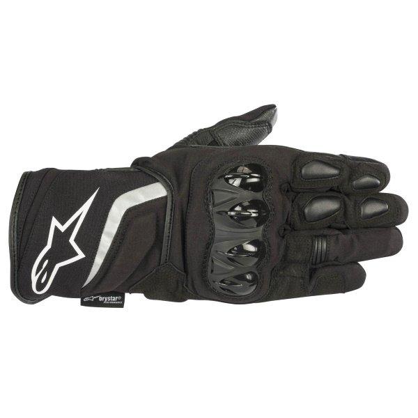 Alpinestars T-SP W Drystar Black Waterproof Motorcycle Gloves Back