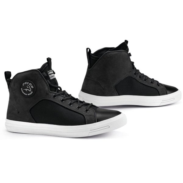 Falco Starboy Black Motorcycle Boots