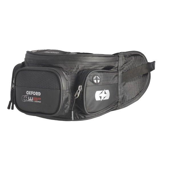 XW3R Waist Bag Black Leg & Bum Bags