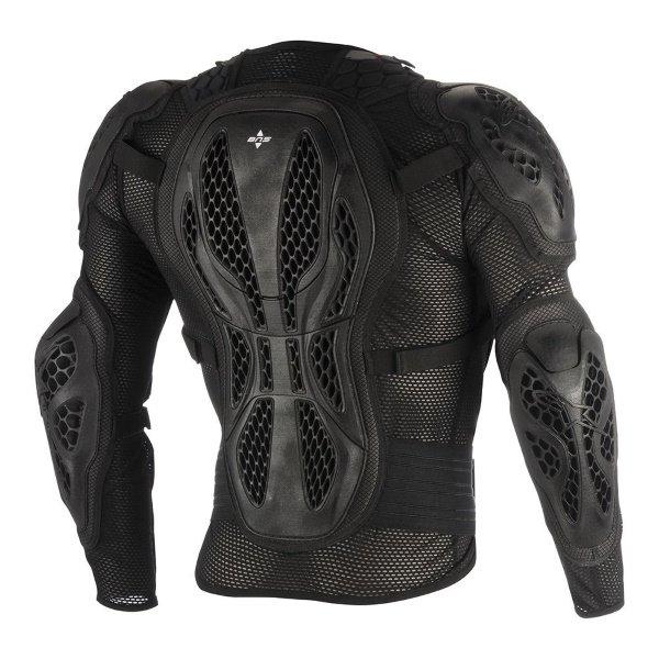 Alpinestars Bionic Black Red Youth Action MX Jacket Back