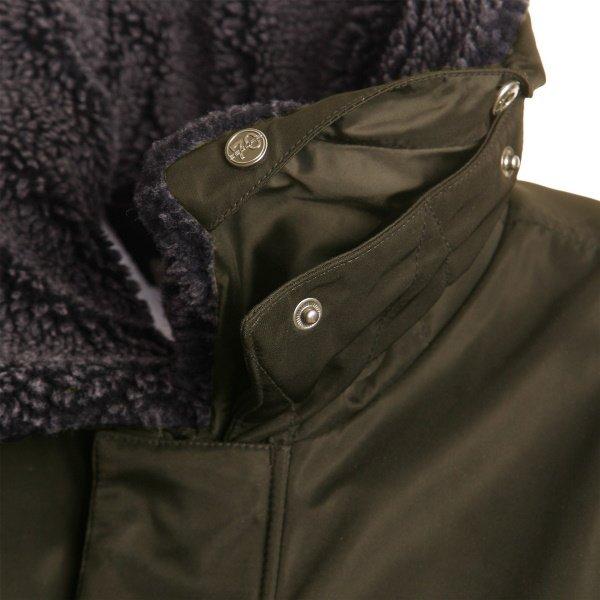 Segura Mitchell Khaki Textile Motorcycle Jacket Removeable Collar