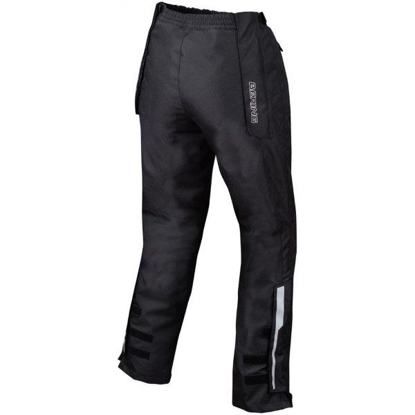 Bering Bartone Ladies Black Textile Motorcycle Pants Rear
