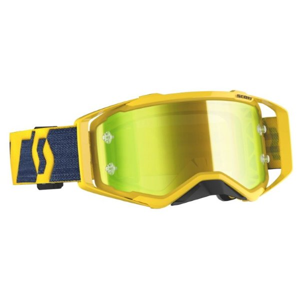 Prospect Goggles Yellow Yellow Yellow Chrome Motocross