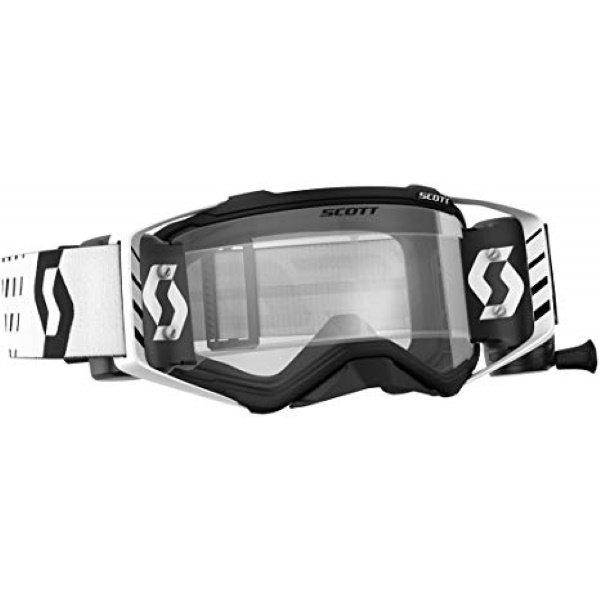 Prospect Goggles WFS Black White Clear Scott