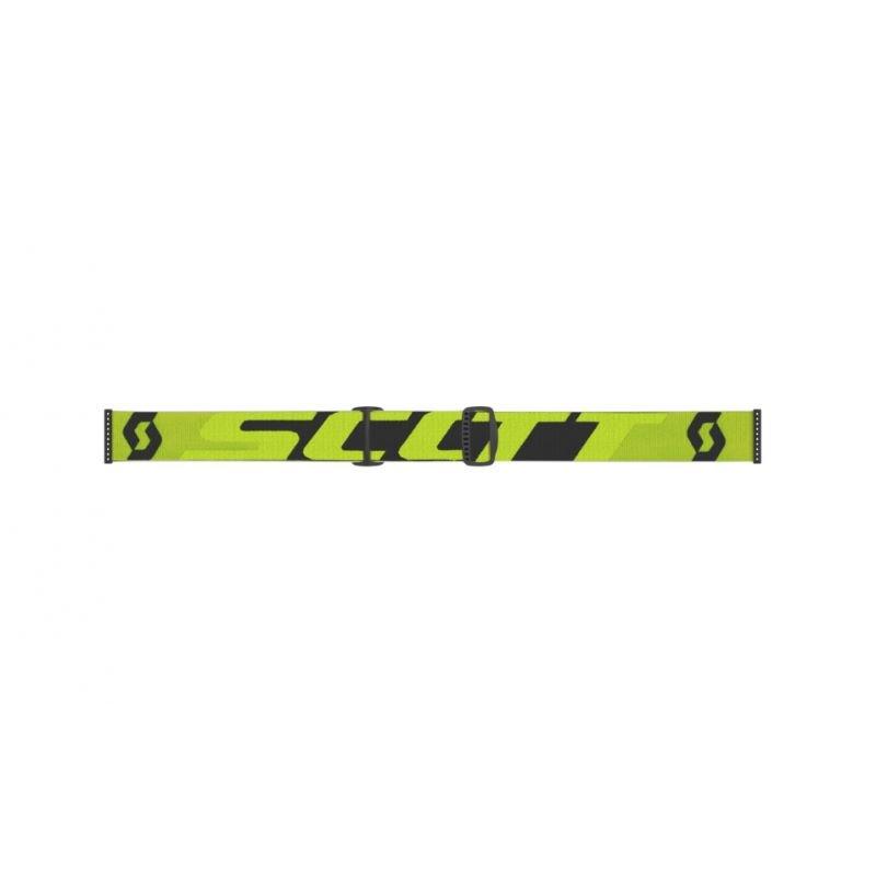 Scott Hustle X MX Goggles Yellow Blue Clear Yellow Blue Clear
