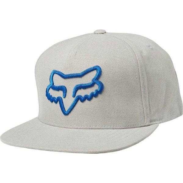 Fox Instill Grey Snapback Hat Front
