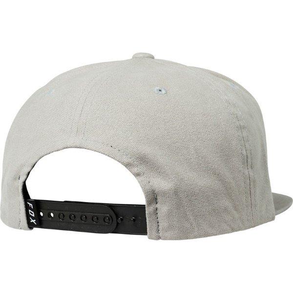 Fox Instill Grey Snapback Hat Back