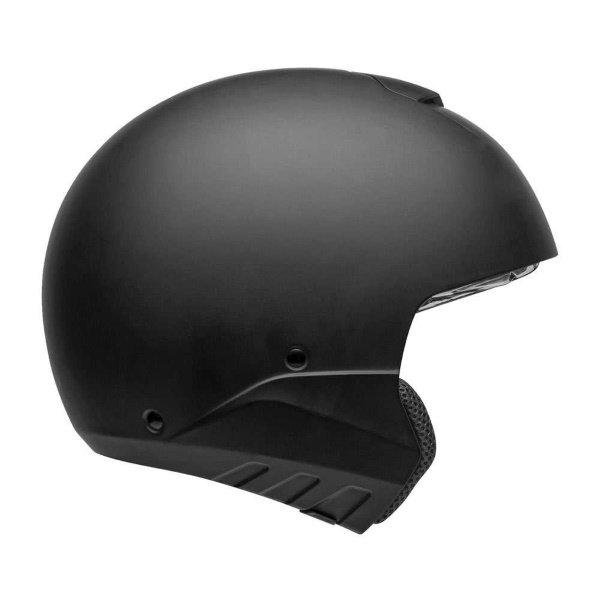 Bell Broozer Matt Black Full Face Motorcycle Helmet Right Side