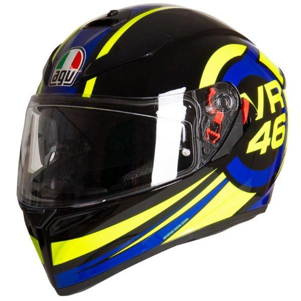 AGV K3 SV-S Ride 46 Full Face Motorcycle Helmet Front Left