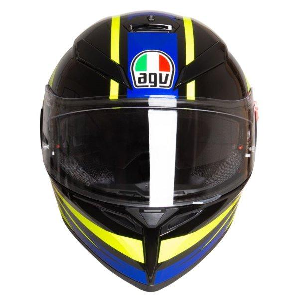 AGV K3 SV-S Ride 46 Full Face Motorcycle Helmet Front