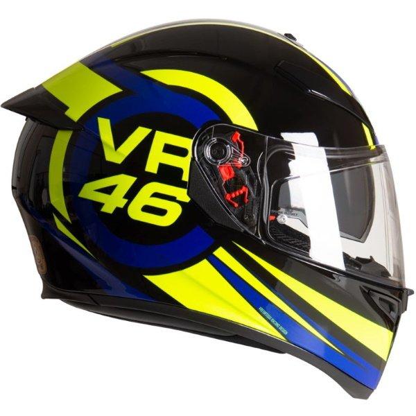 AGV K3 SV-S Ride 46 Full Face Motorcycle Helmet Right Side