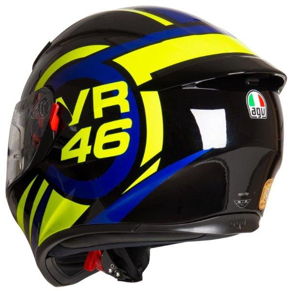 AGV K3 SV-S Ride 46 Full Face Motorcycle Helmet Back Right