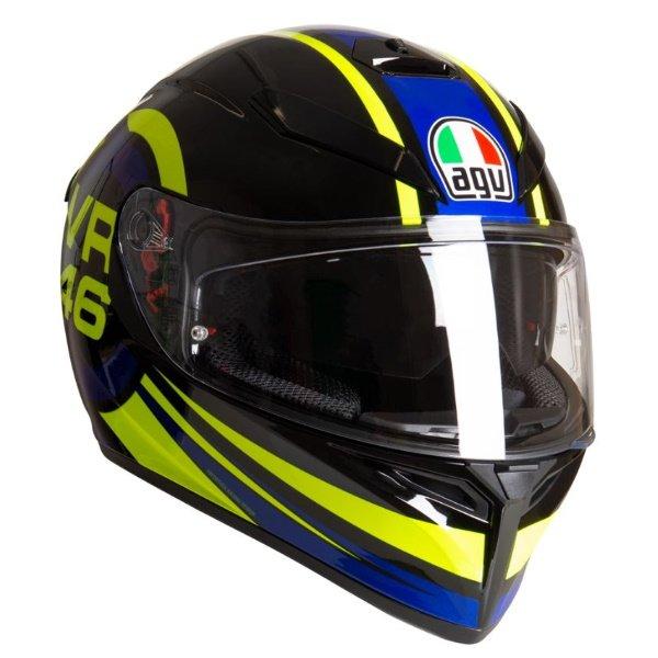AGV K3 SV-S Ride 46 Full Face Motorcycle Helmet Front Right