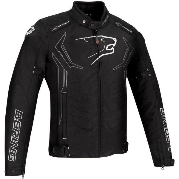 Guardian Jacket Black White Silver