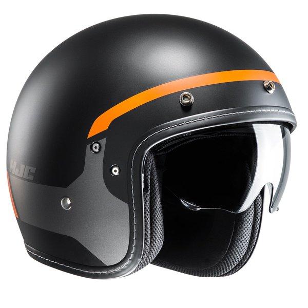 FG-70s Modik Helmet Orange Black