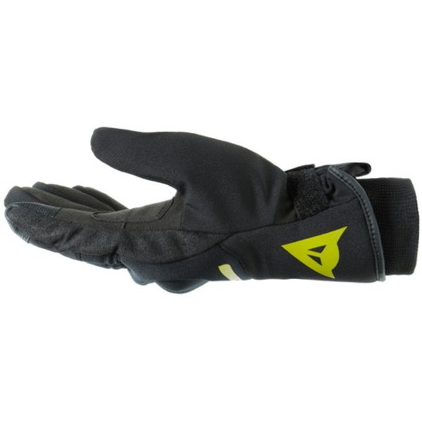 Dainese Avila D-Dry Black Fluo Yellow Motorcycle Gloves Thumb Side