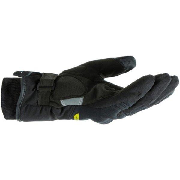 Dainese Avila D-Dry Black Fluo Yellow Motorcycle Gloves Little Finger Edge